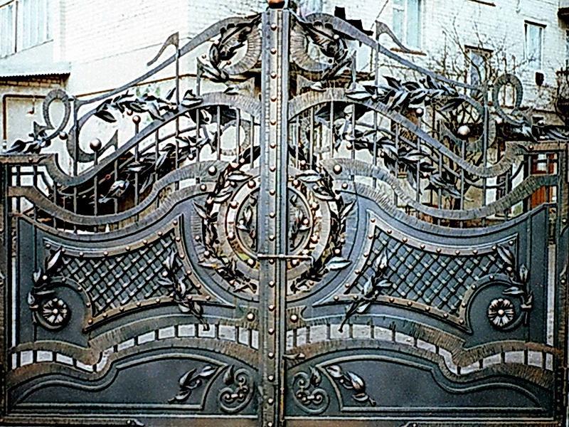 Кованые ворота N 1013