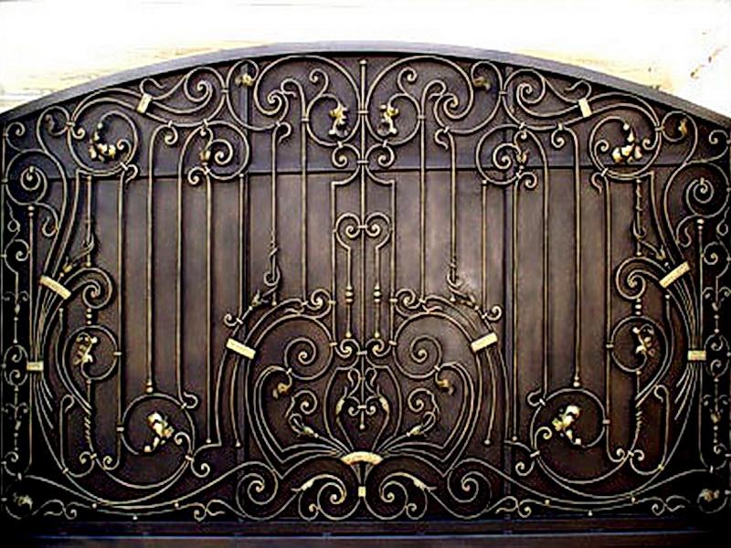 Кованые ворота N 1020