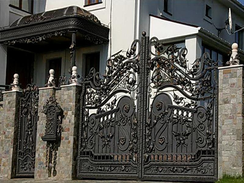Кованые ворота N 1023