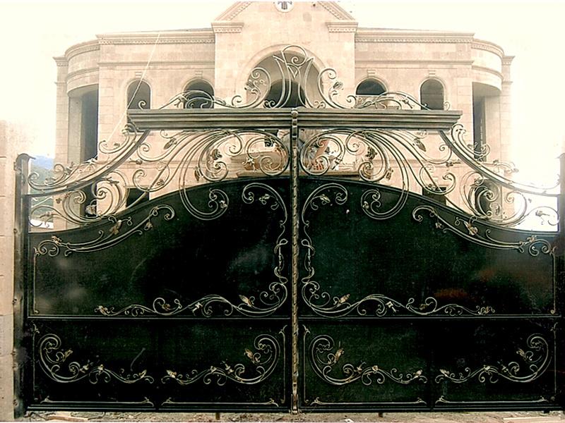 Кованые ворота N 1024