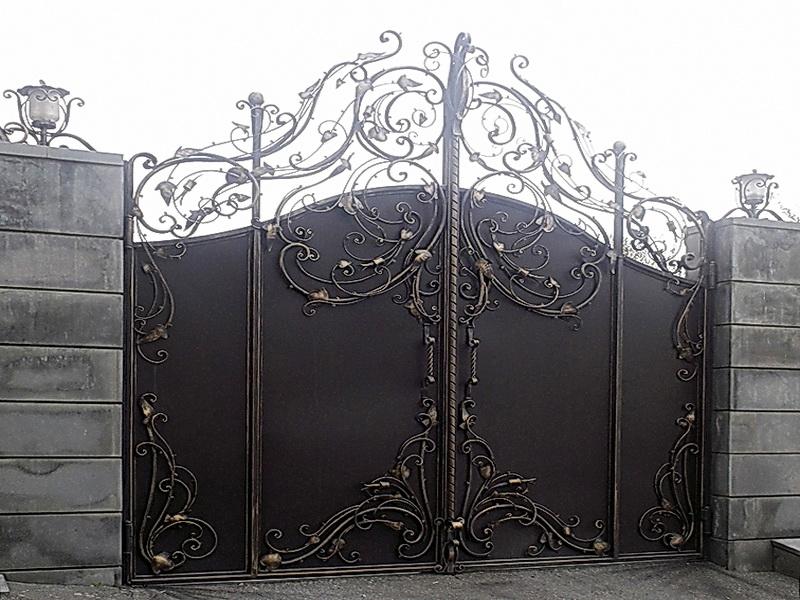 Кованые ворота N 1025