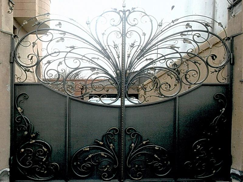 Кованые ворота N 1026
