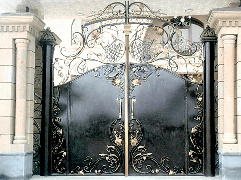 Кованые ворота N 1027