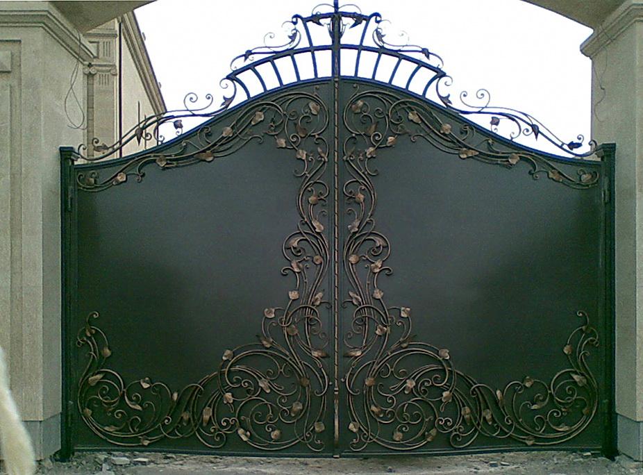 Кованые ворота N 1028