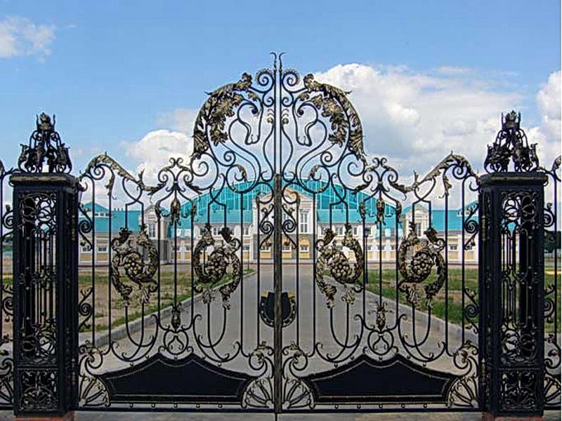Кованые ворота N 1029