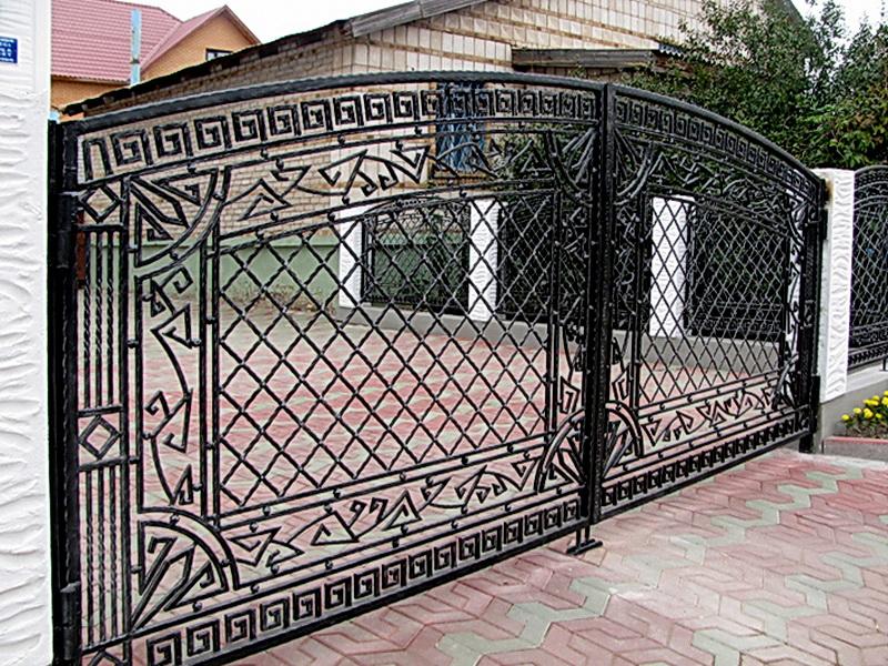 Кованые ворота N 1031