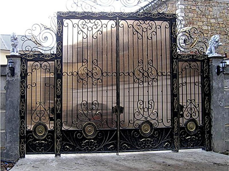 Кованые ворота N 1032