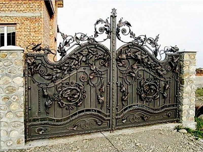 Кованые ворота N 1036