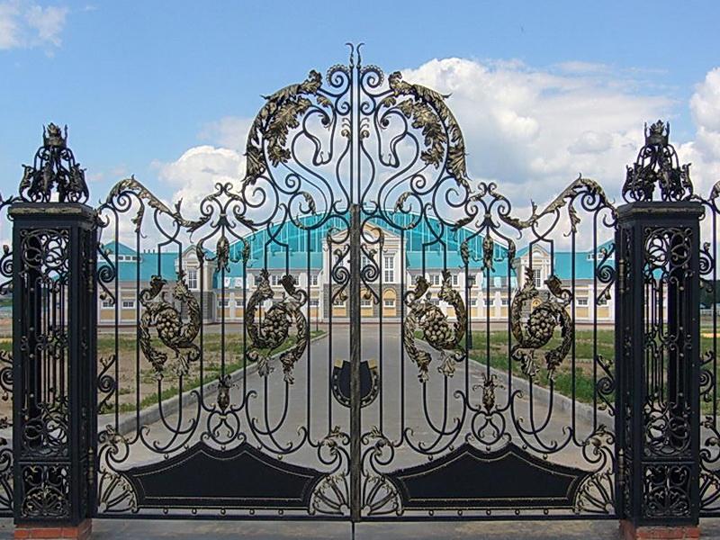 Кованые ворота N 1038
