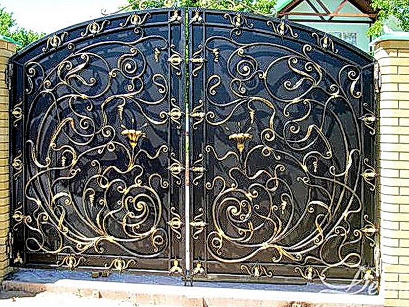 Кованые ворота N 1040