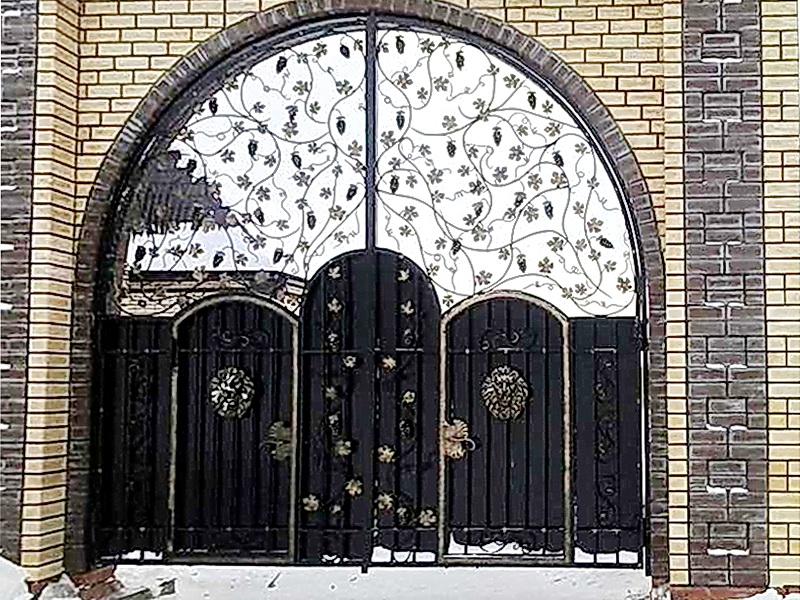 Кованые ворота N 1041