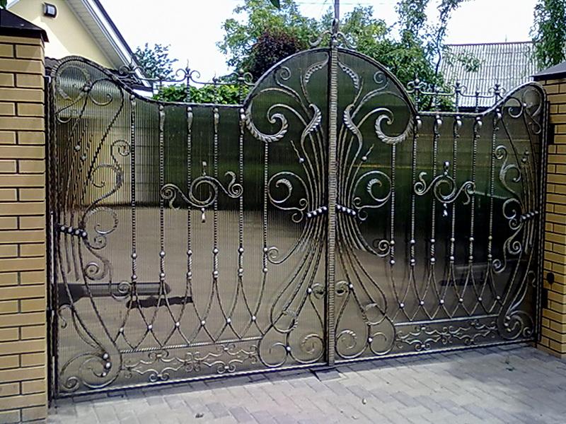 Кованые ворота N 1042