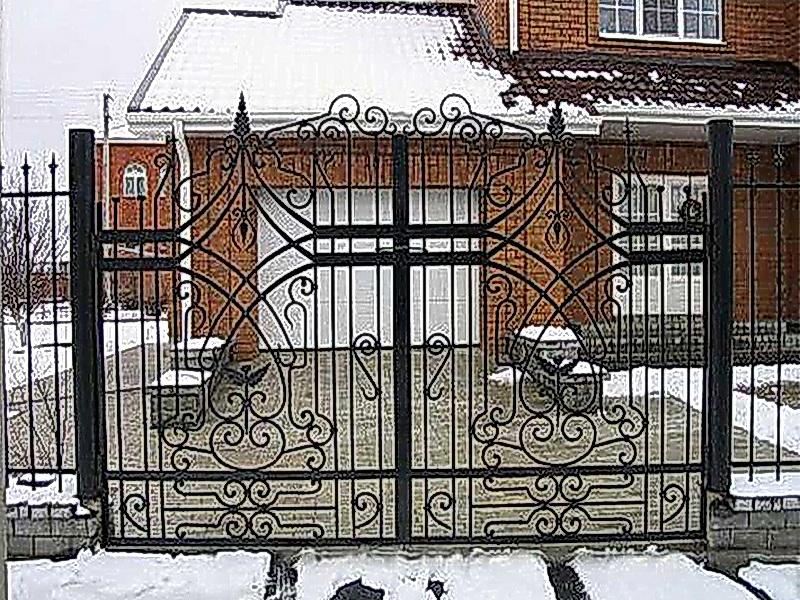Кованые ворота N 1044