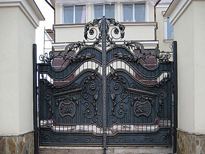 Кованые ворота N 1049