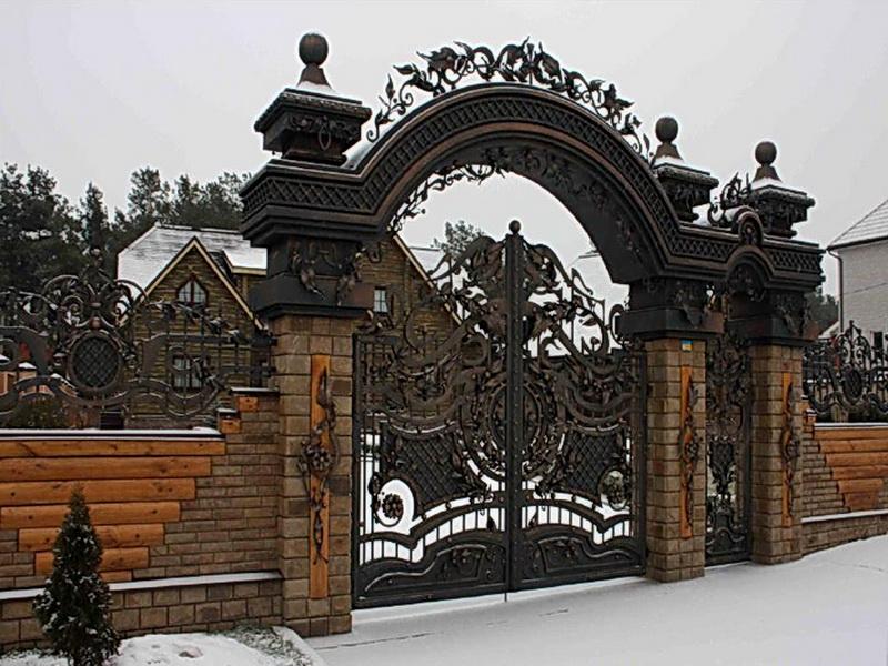 Кованые ворота N 1051
