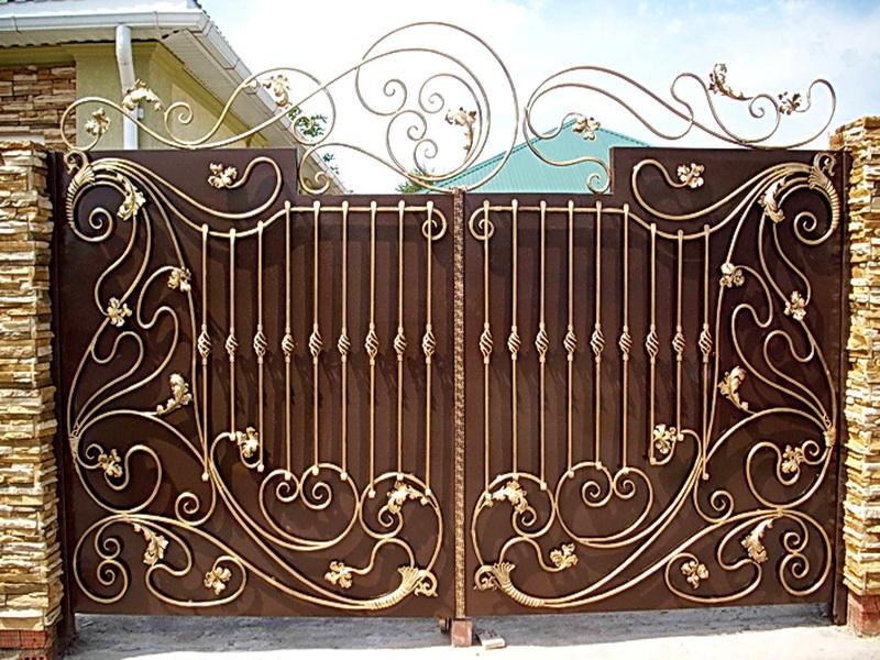 Кованые ворота N 1053