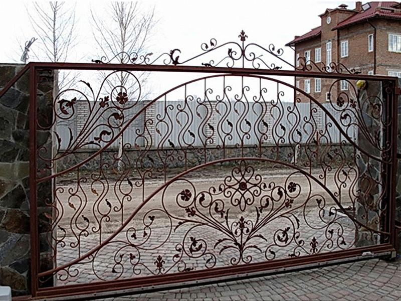 Кованые ворота N 1055
