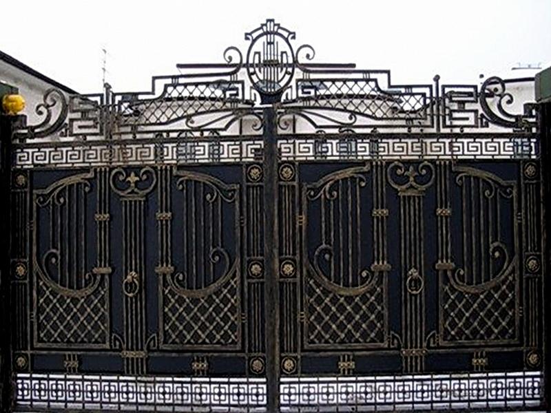 Кованые ворота N 1058