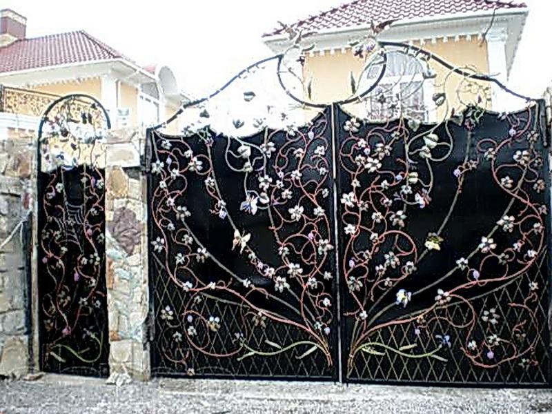 Кованые ворота N 1059