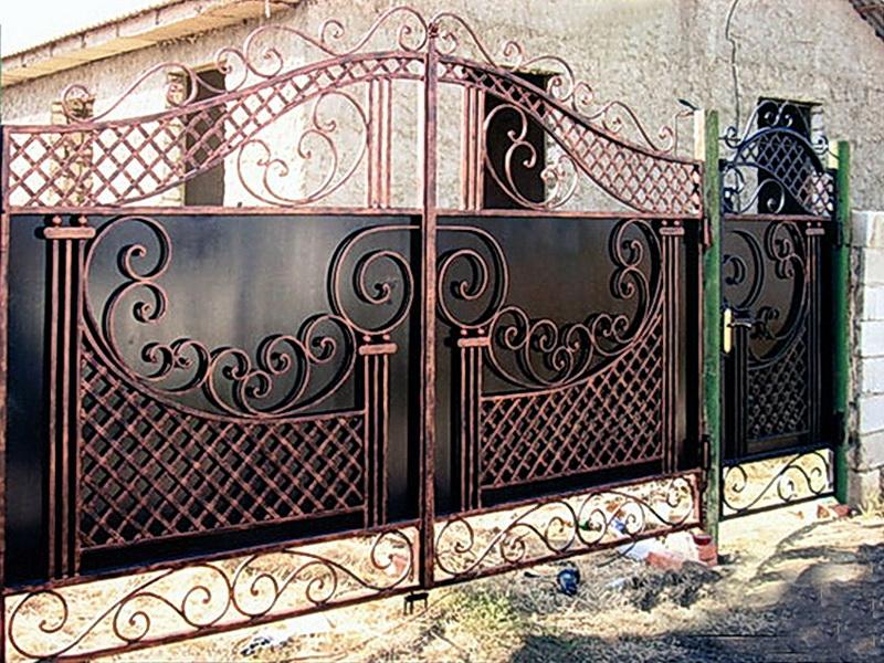 Кованые ворота N 1060