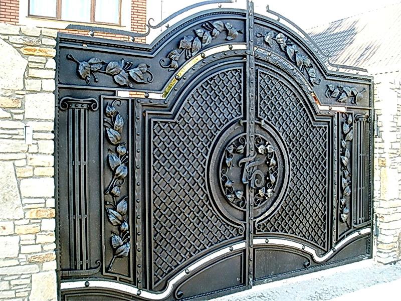Кованые ворота N 1063