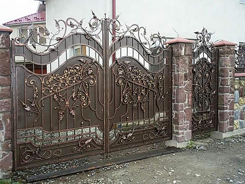 Кованые ворота N 1064