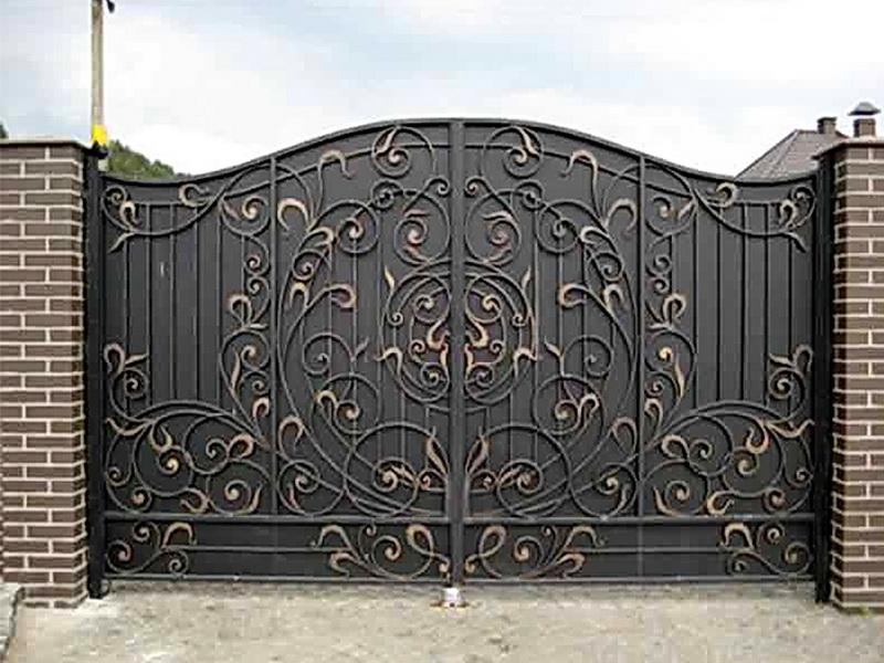Кованые ворота N 1065