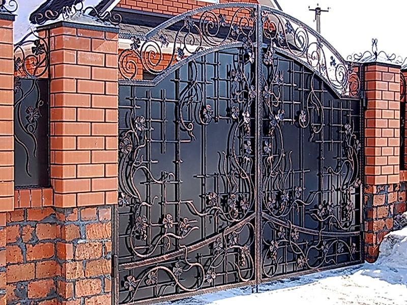 Кованые ворота N 1067