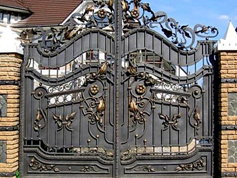 Кованые ворота N 1070