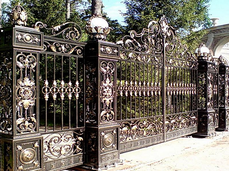 Кованые ворота N 1071