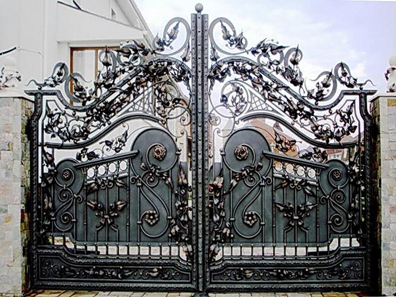 Кованые ворота N 1075