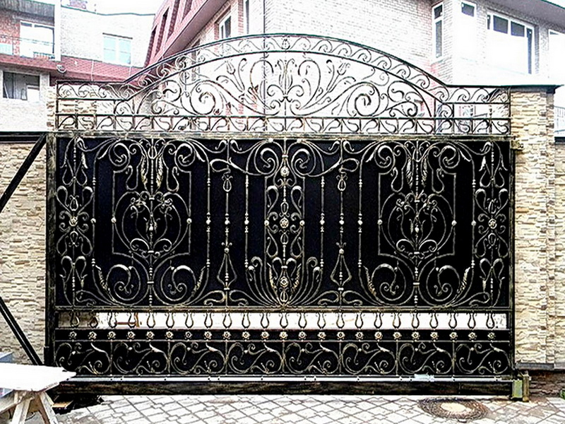 Кованые ворота N 1078