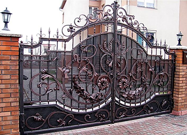 Кованые ворота N 1079
