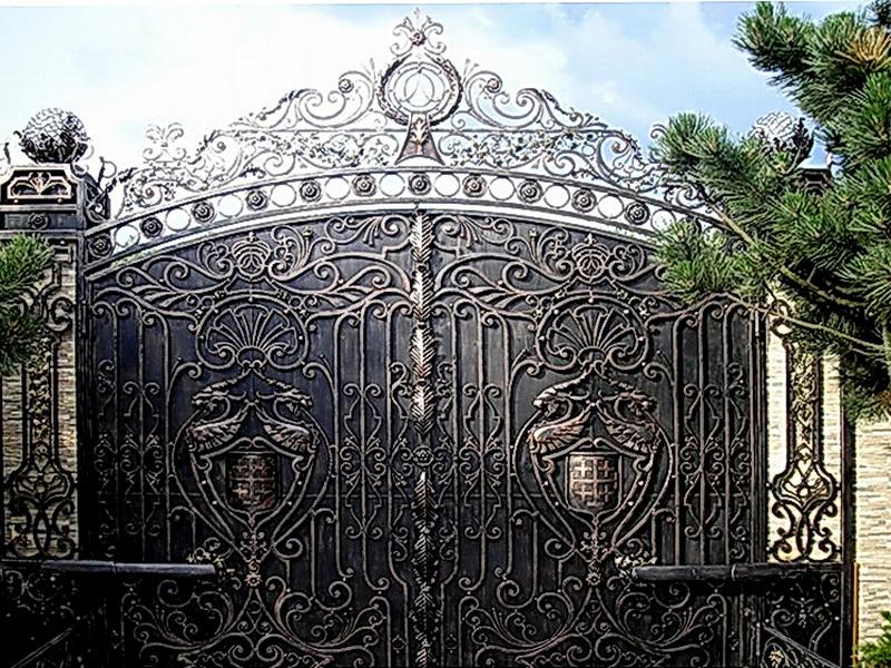 Кованые ворота N 1081