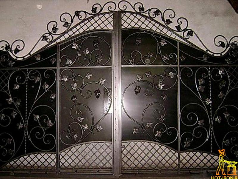 Кованые ворота N 1084