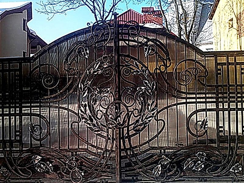 Кованые ворота N 1085