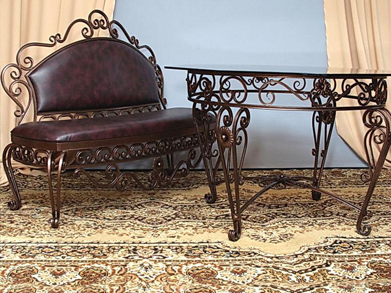 Кованый диван N 15001