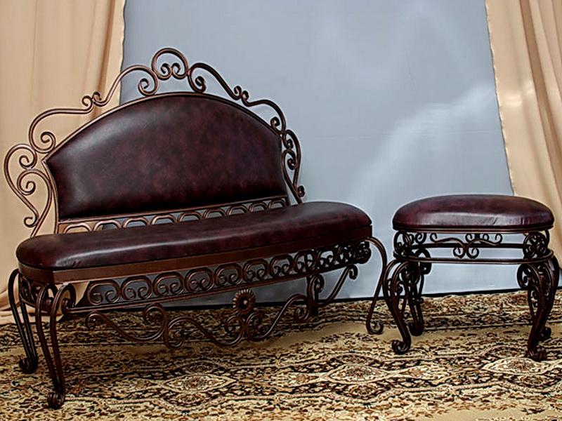 Кованый диван N 15002