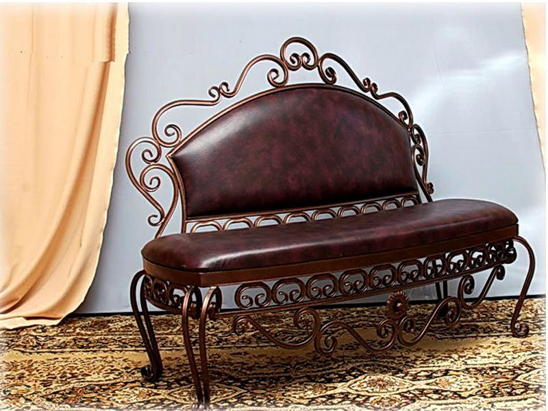 Кованый диван N 15003