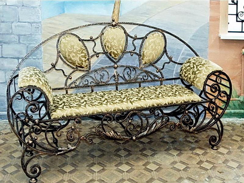 Кованый диван N 15004