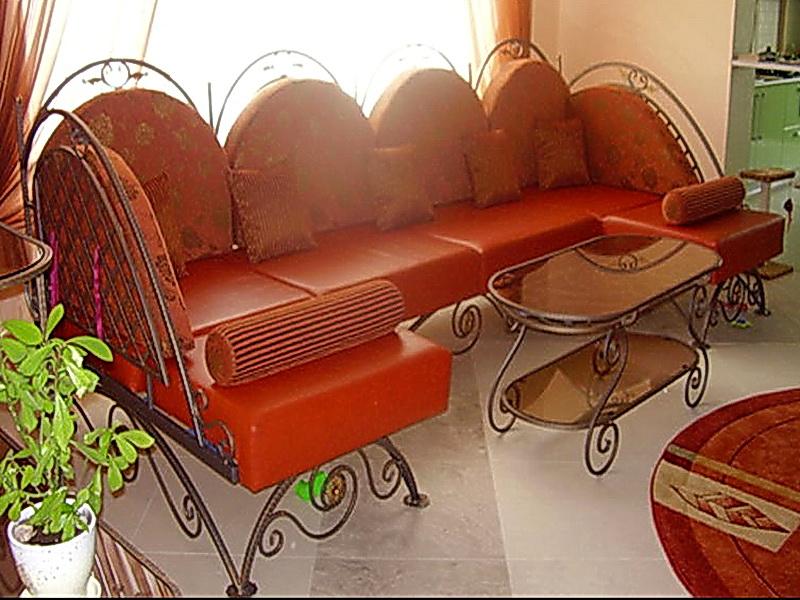 Кованый диван N 15011
