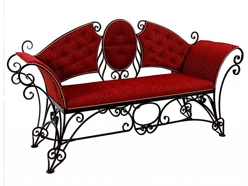 Кованый диван N 15013