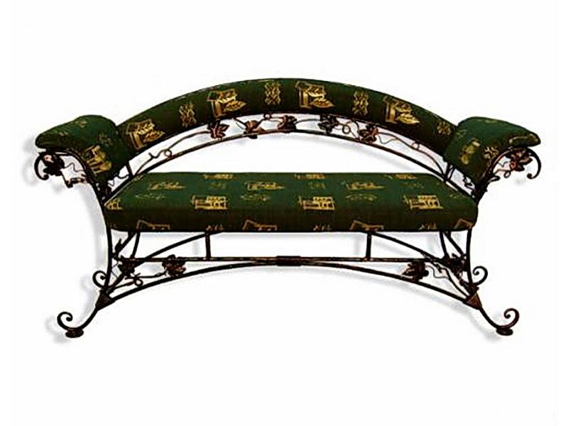 Кованый диван N 15014