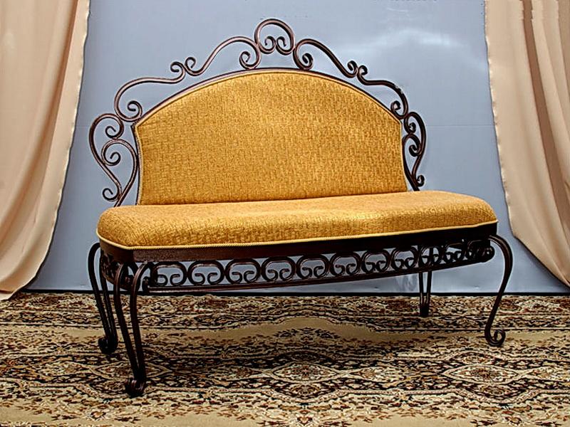 Кованый диван N 15016