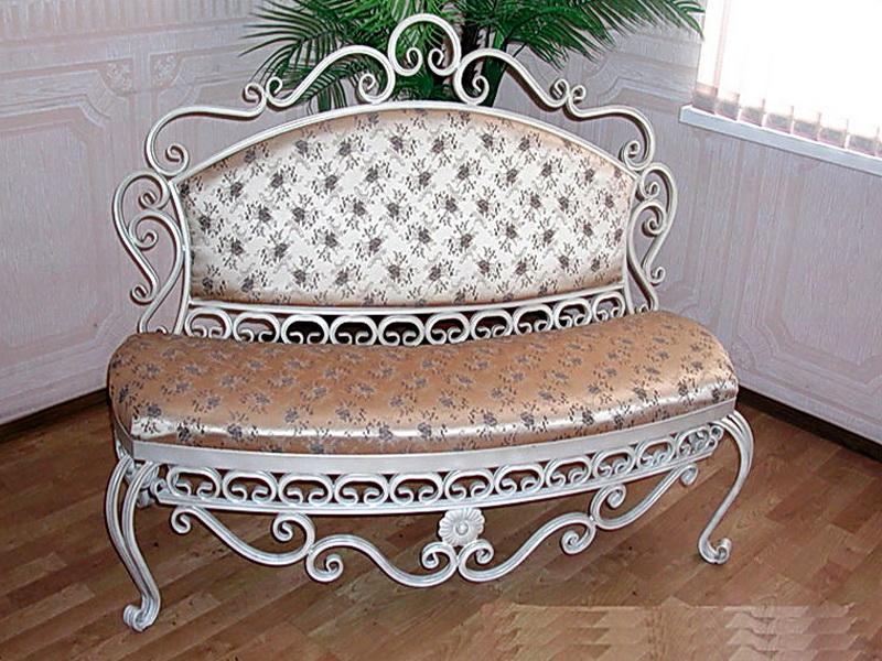 Кованый диван N 15017