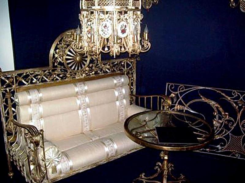 Кованый диван N 15020
