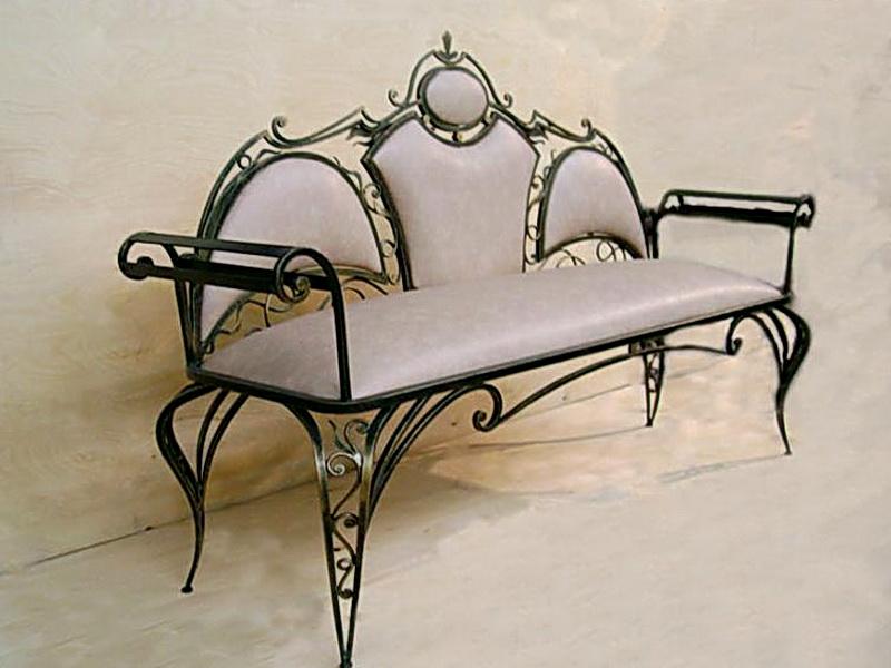 Кованый диван N 15024