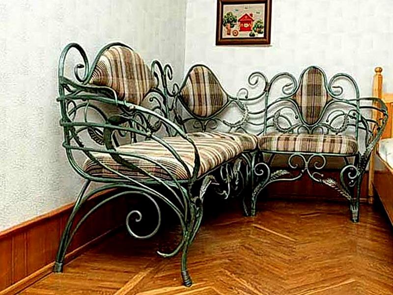 Кованый диван N 15025