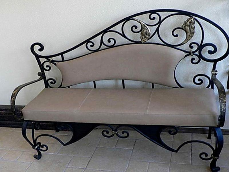 Кованый диван N 15026