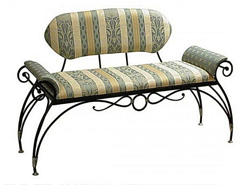 Кованый диван N 15028